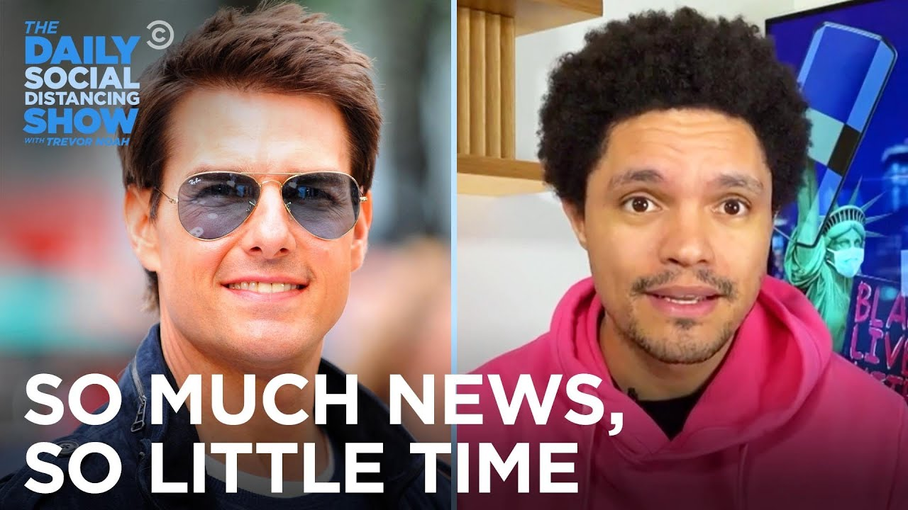 Meghan Markle Starts A Podcast & Tom Cruise Is Pissed About COVID | The Daily Social Distancing Show