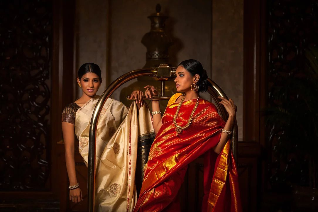 What does it take to design sarees? Imagination, says this Malaysian
