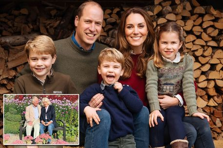 Kate Middleton and Prince William release Christmas card after last week's leak