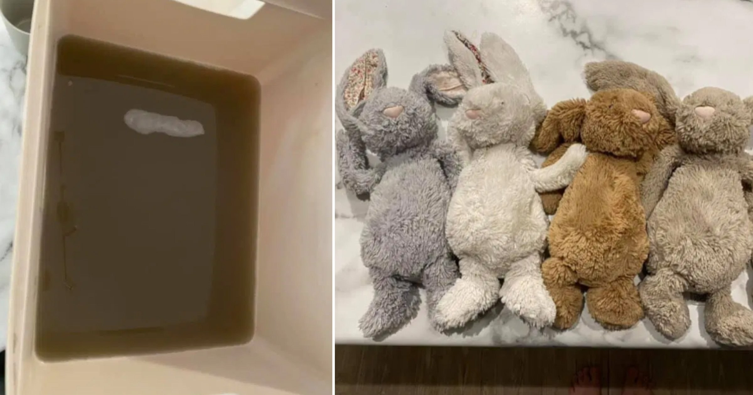 Mum shares grim reminder to wash children's teddies every week