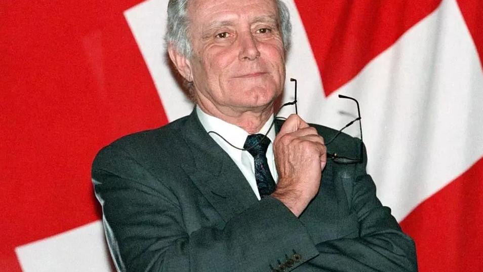 瑞士前联邦主席科蒂感染新冠去世 终年81岁