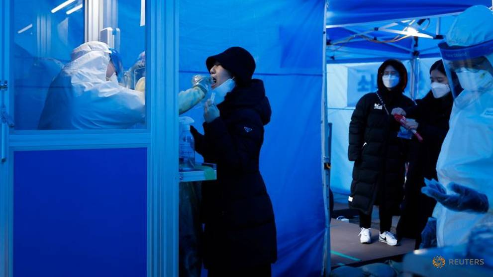 South Korea reports more than 1,000 COVID-19 cases for third consecutive day