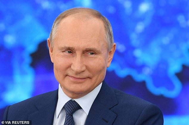 Laughing Putin says if he wanted Alexei Navalny dead 'it would have been done' as he denies Kremlin involvement in the opposition leader's poisoning