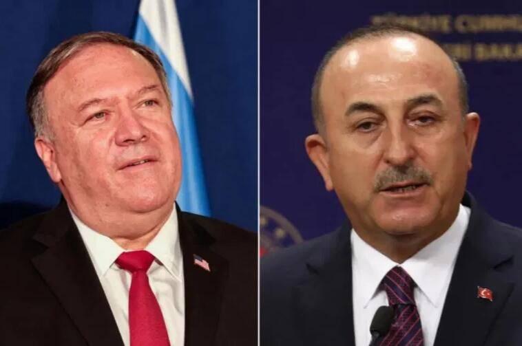 刚宣布完制裁,蓬佩奥又去安抚:制裁不是为削弱土耳其军事实力,目标是俄罗斯