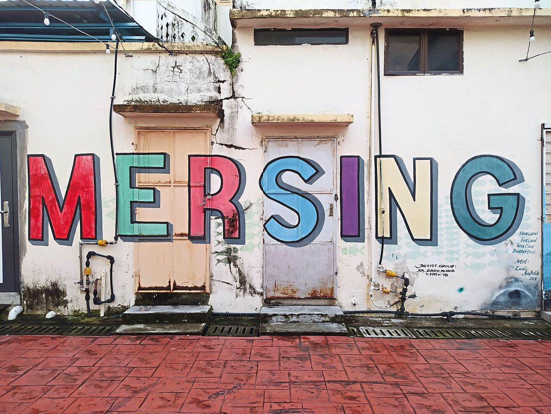 Mersing taps into street art's tourism potential
