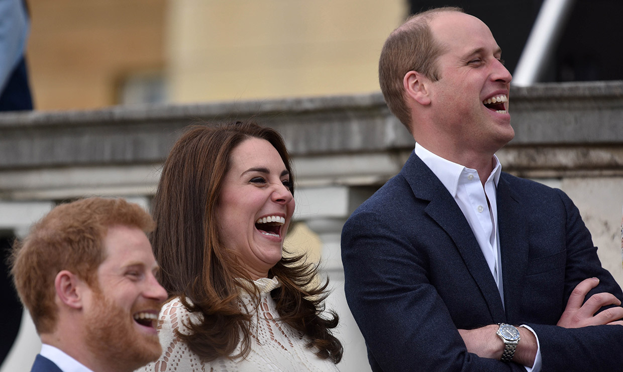 20 photos of the royals in hysterics that will put a smile on your face