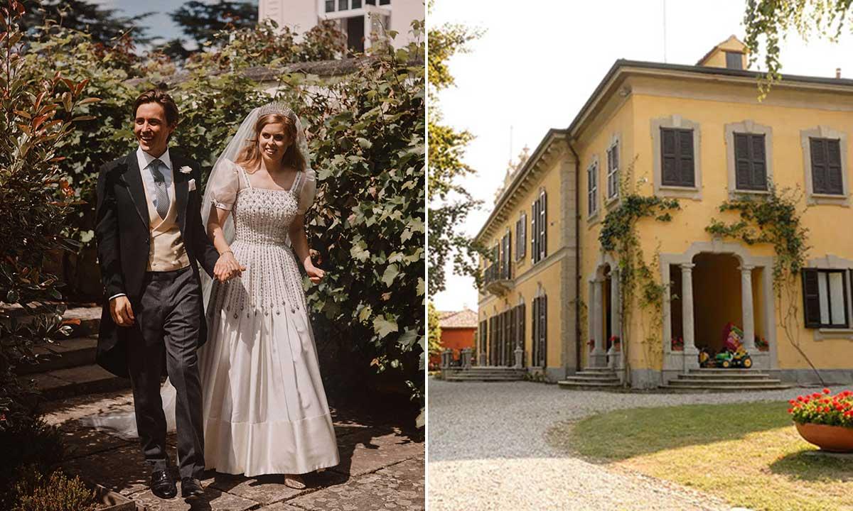 Inside Princess Beatrice's husband Edoardo's jaw-dropping family palace