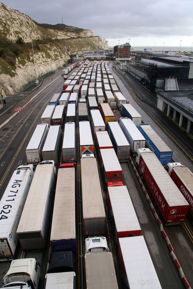 Millions more parcels swamp Royal Mail as Dover lorry queues stretch 20 miles