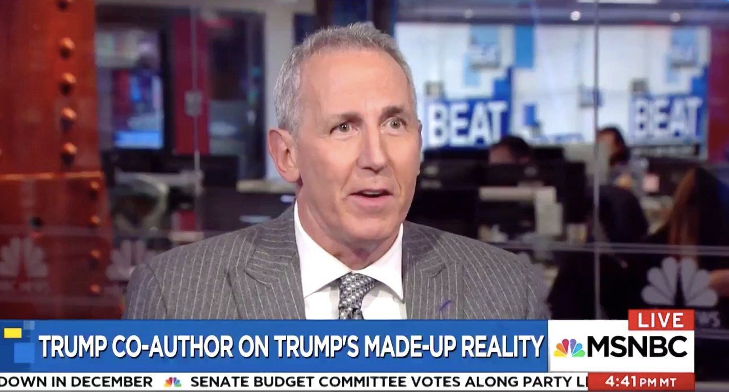 'Art of the deal' co-author perfectly predicted Trump's defeat reaction in 2016