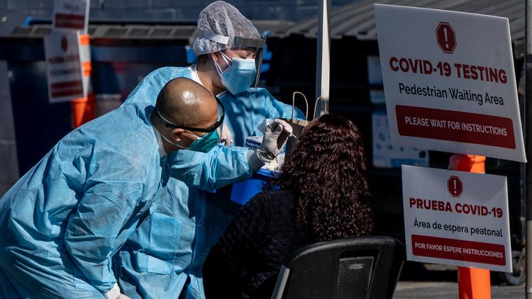 美国疾控中心:变异新冠病毒可能已在美国传播
