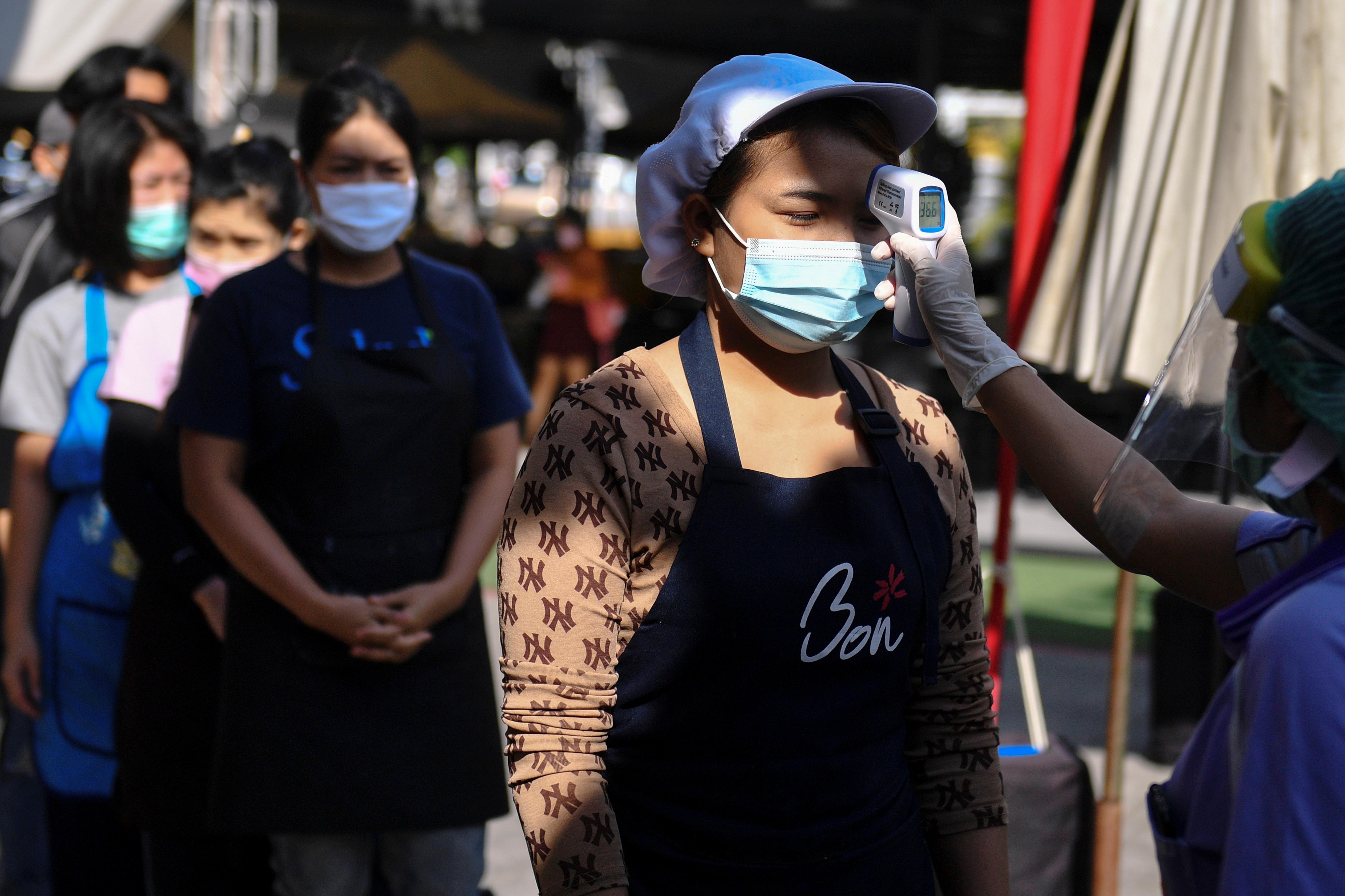 【冠状病毒19】泰国新增279起病例 又两人病逝