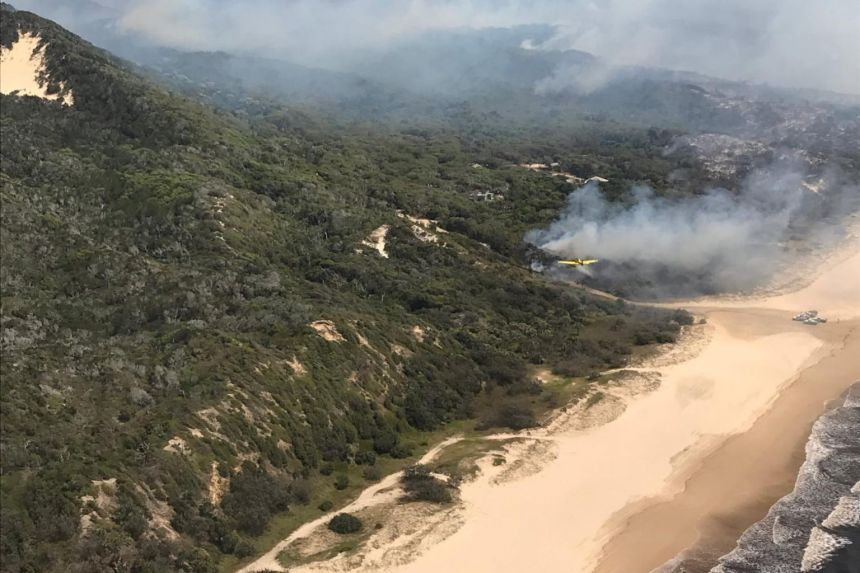 Four charged over blaze on Australia's Fraser Island, a Unesco World Heritage Site