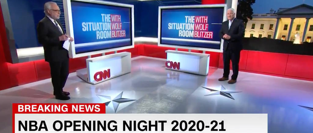 The NBA's Hectic Offseason Got The CNN Election Night Treatment By Wolf Blitzer And John King