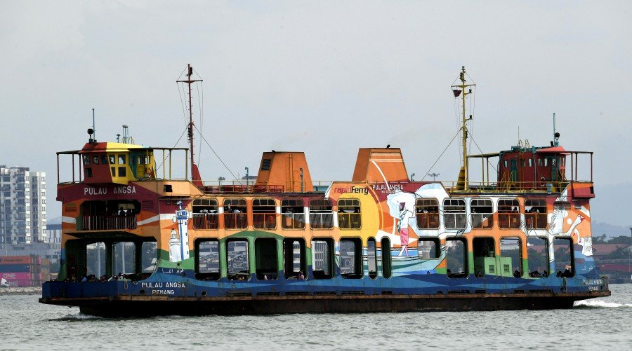 Penang ferry service to remain, says Transport Minister