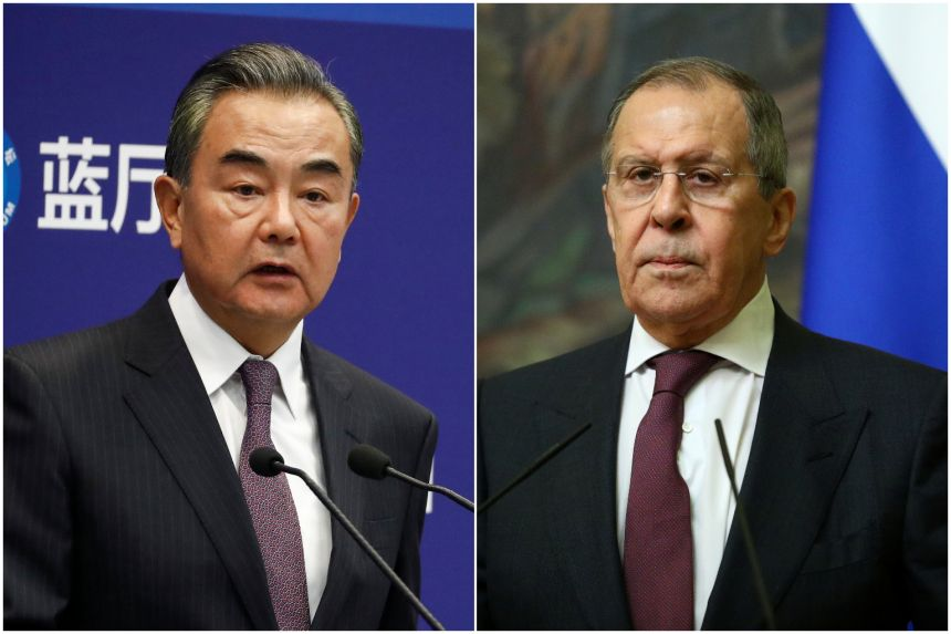 China and Russia criticise US sanctions, vow to protect basic norms of international relations