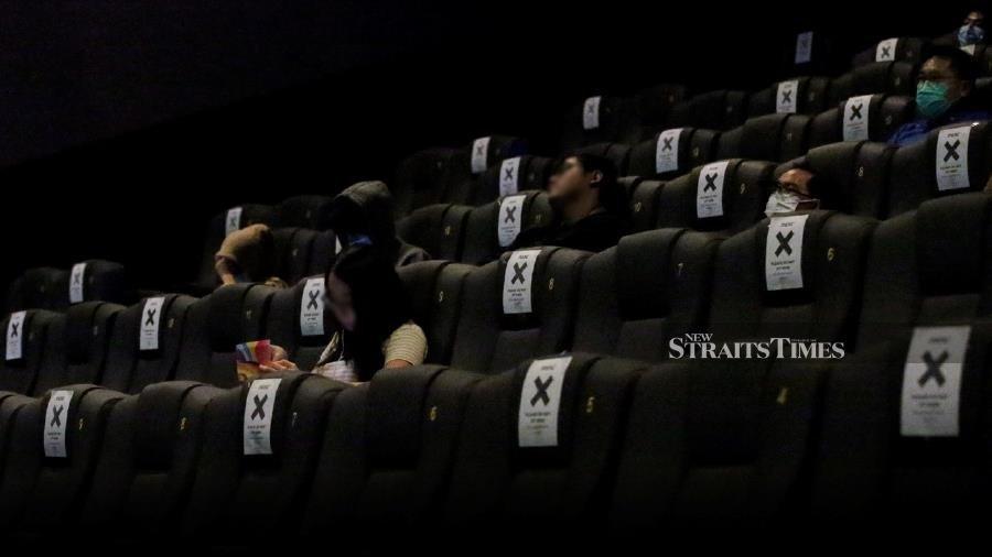 Authorities monitoring SOP compliance in cinemas