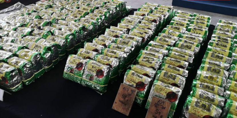 槟州肃毒组 起获超过2500万令吉各类毒品