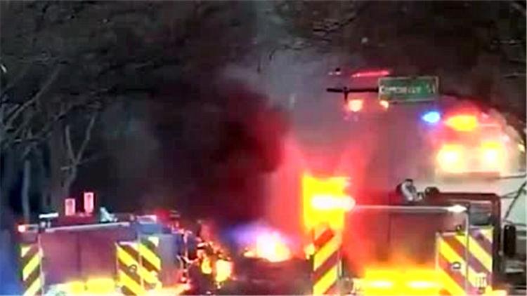 美国纳什维尔发生爆炸致3人受伤