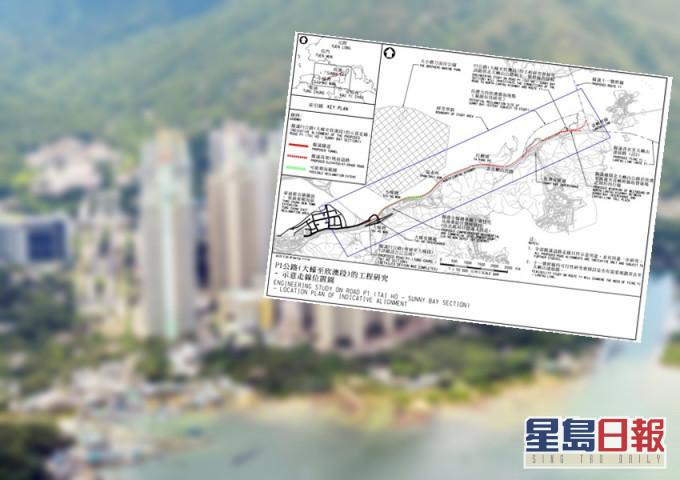东涌拟建12公里公路直达大蚝及欣澳 填海范围涵盖中华白海豚生境