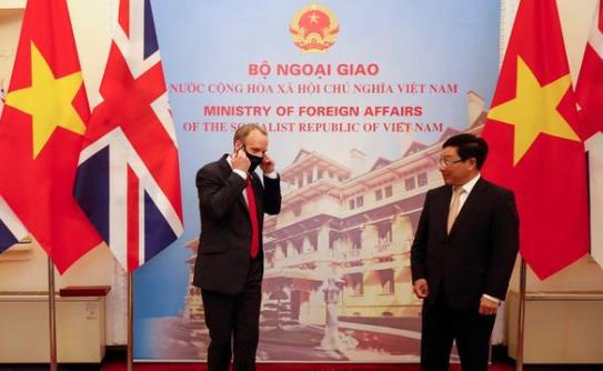 英国与越南签署自由贸易协议