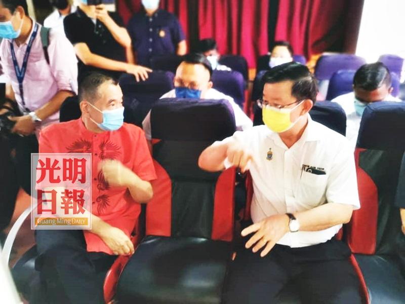 曹观友:槟政府坚持 保留渡轮旧换新