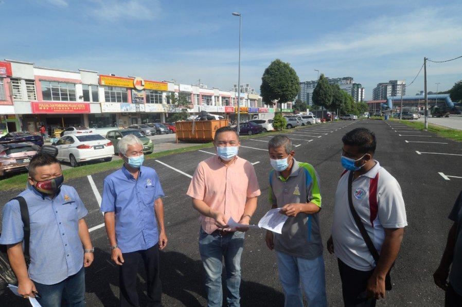 促小贩搬迁挨批 黄思汉称会提供更安全谋生地点