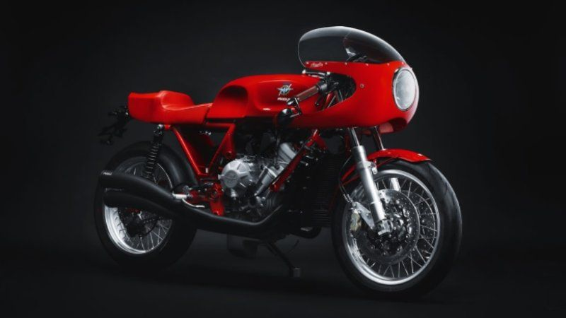 Magni honors its founder with the retro-styled Italia 01/01 motorcycle