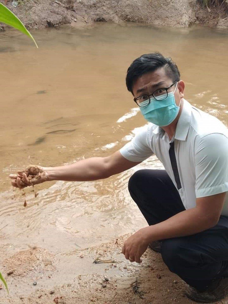 杨祥敦建议开采河沙 增收入减缓闪电水灾
