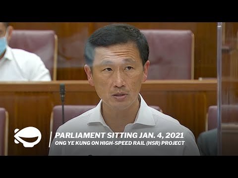 Ong Ye Kung on why the Kuala Lumpur-Singapore High Speed Rail was terminated