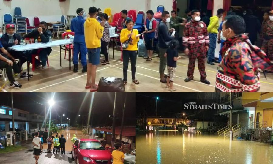 Floods strike Gua Musang; almost 300 evacuated