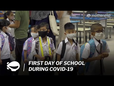First Day Of School In Singapore During Covid-19