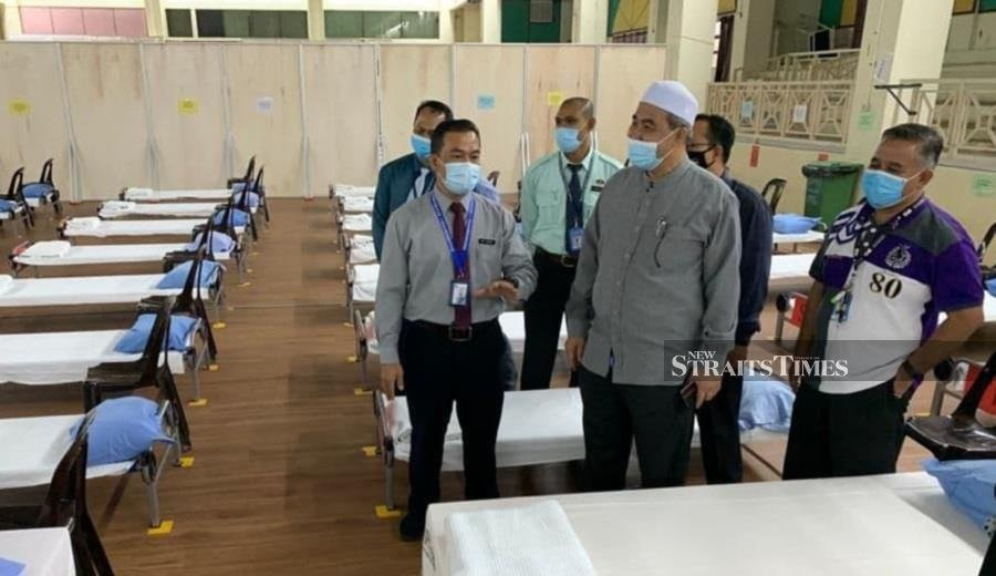 Rise in Covid-19 cases sees 90 per cent occupancy rate at 3 Kelantan hospitals