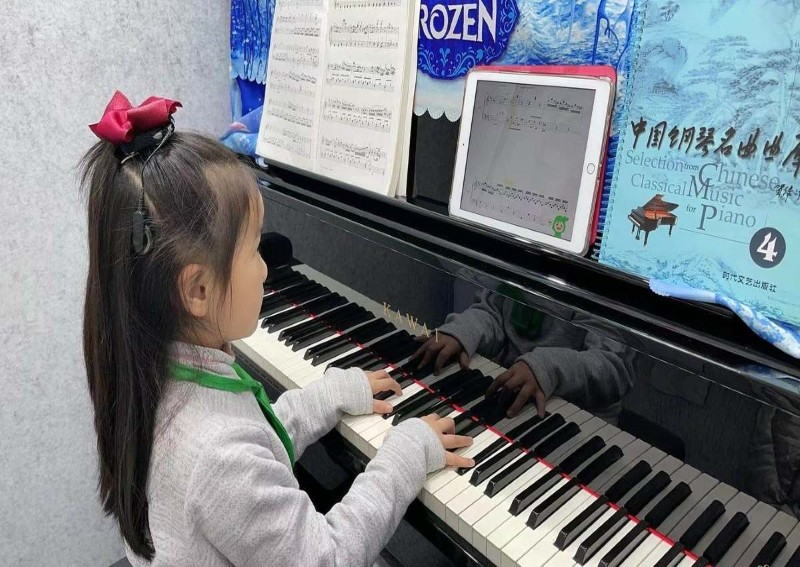 Virtual classes help piano players hit the right notes in China