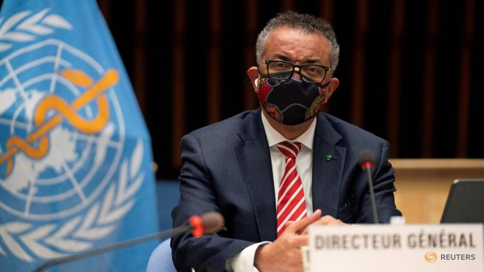 WHO's Tedros 'very disappointed' China hasn't granted entry to coronavirus experts