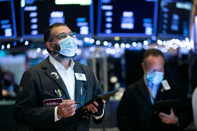 投资者趁低吸纳 美股走升