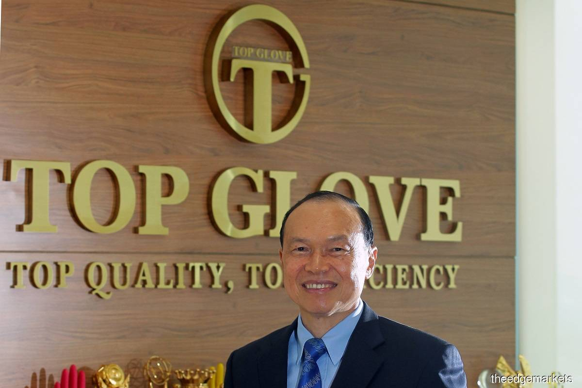 Top Glove's chairman bought more shares when share price sagged on Jan 4