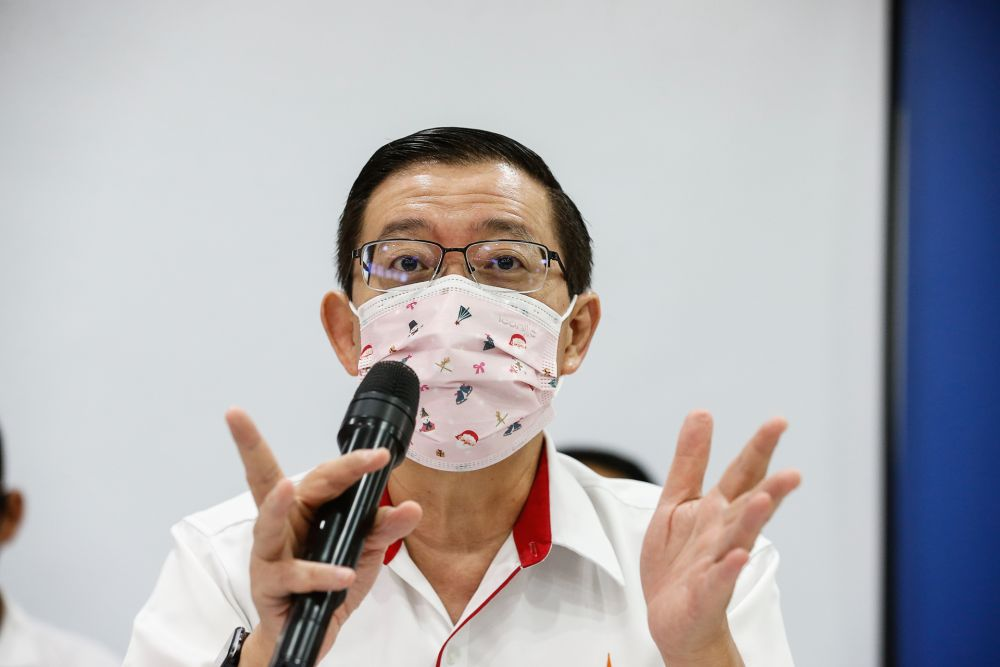 Guan Eng returns verbal volley, tells Annuar Musa to mind his own backyard
