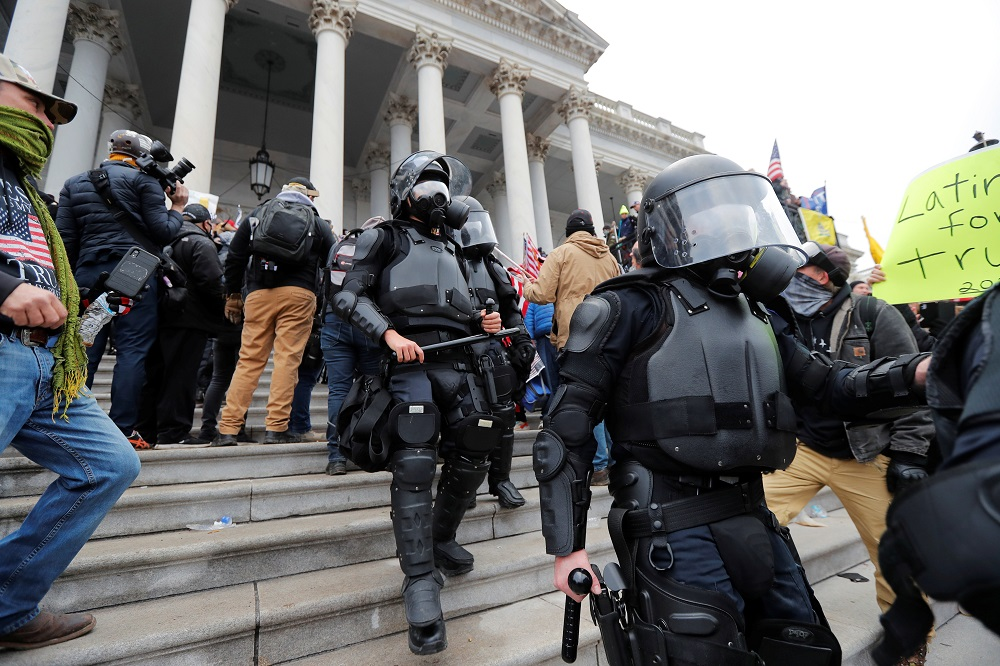 Report: DOJ official says there is evidence to charge sedition in US Capitol assault