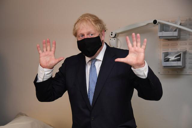 Boris Johnson cancels trip to India due to coronavirus worries