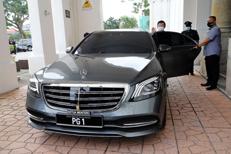 Penang CM gets new official car