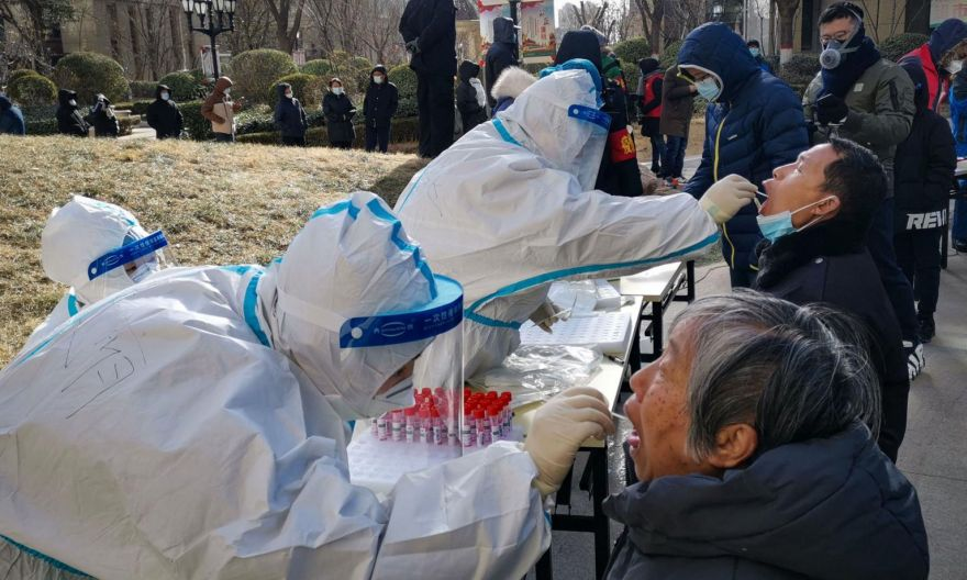 New Covid-19 cases in China's Hebei fall amid new curbs