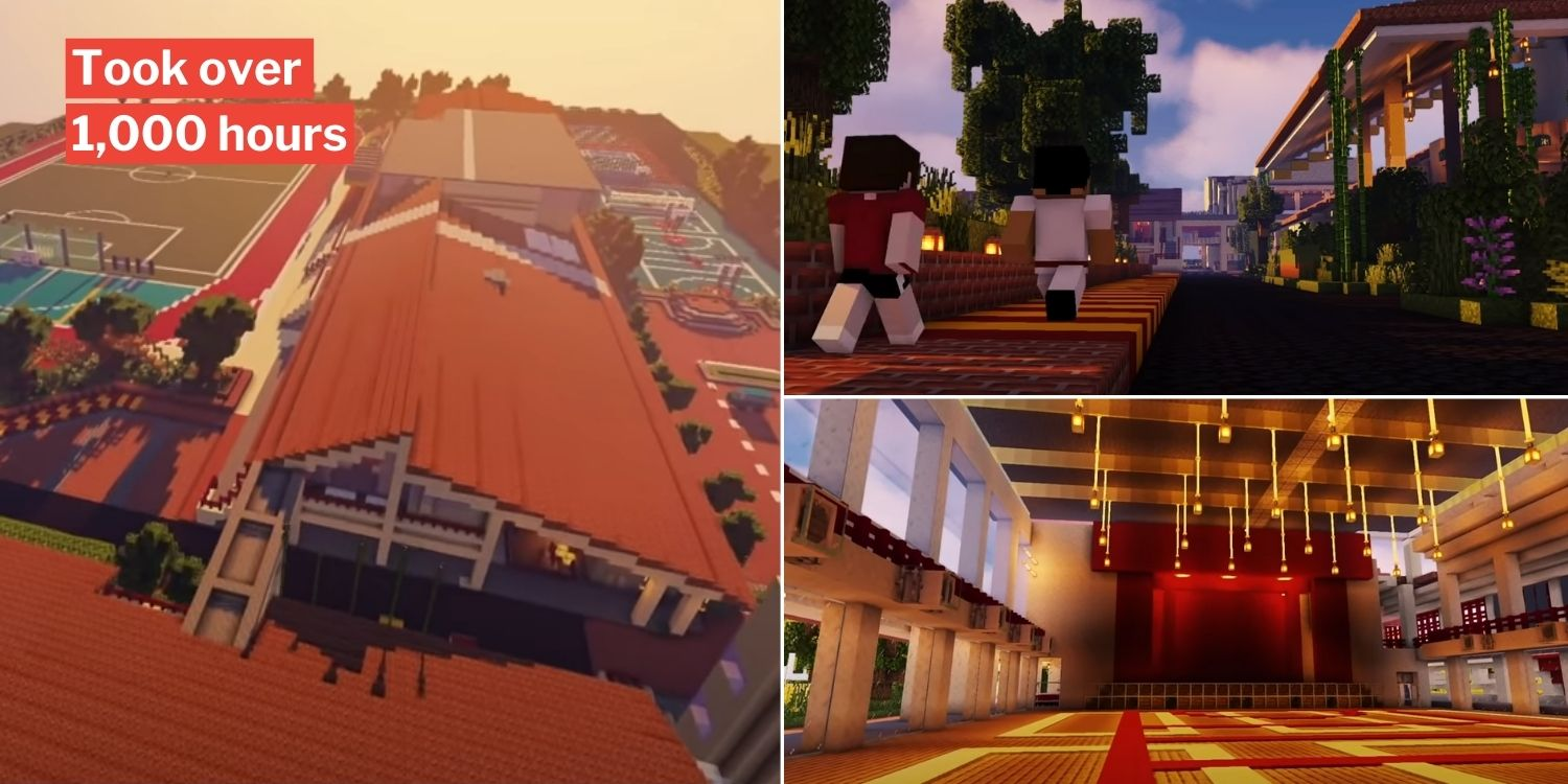 Vjc students build minecraft campus for virtual tour, truly an open house like no other