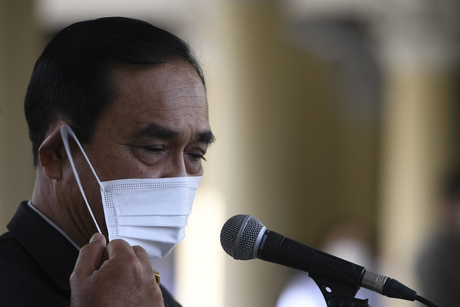 Plague and protest put Thailand on edge of panic