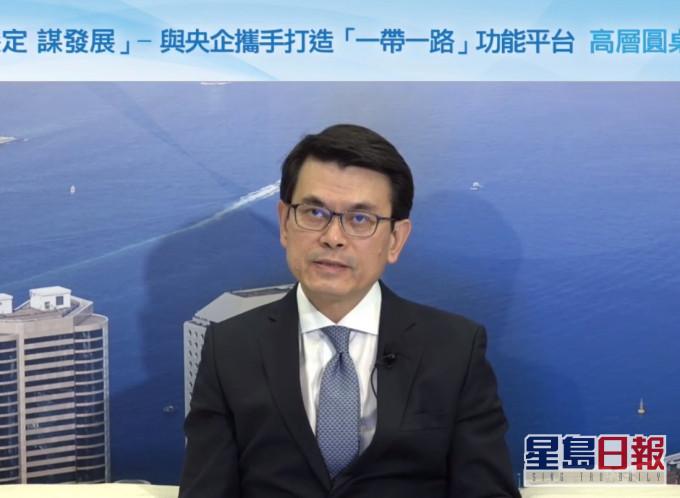 邱腾华:国际社会合作是控制疫情及重启经济重要元素