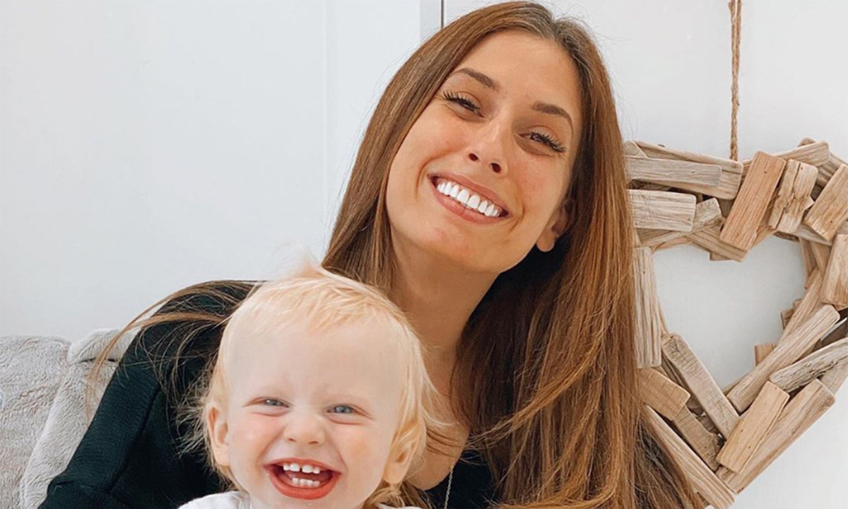 Stacey Solomon melts hearts with adorable new family member