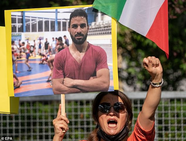 Iran is set to execute a second wrestler after last year hanging a champion competitor 'who was tortured into confessing to a crime he did not commit'