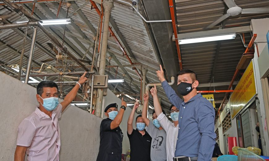 CCTVs installed at Jelutong Market to curb petty crimes