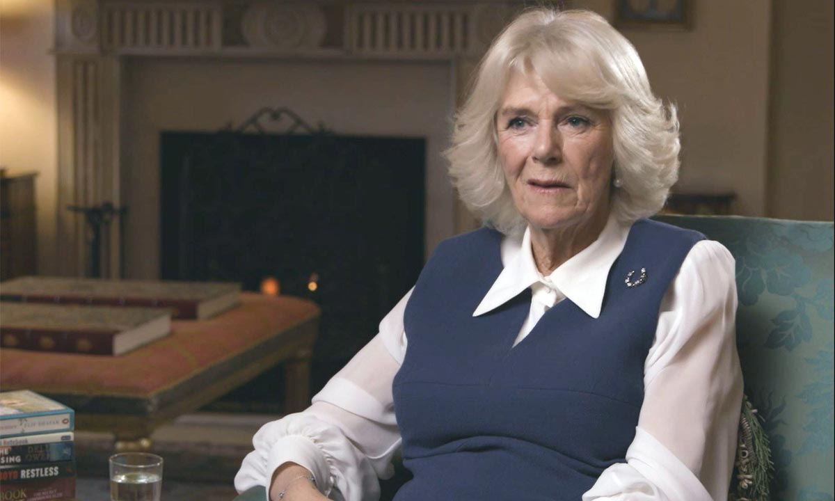Duchess Camilla shares lockdown reading inspiration as she launches online book club
