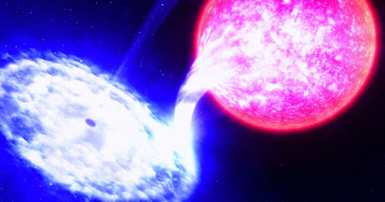 A Black Hole Bites a Chunk Out of This Star Every 114 Days