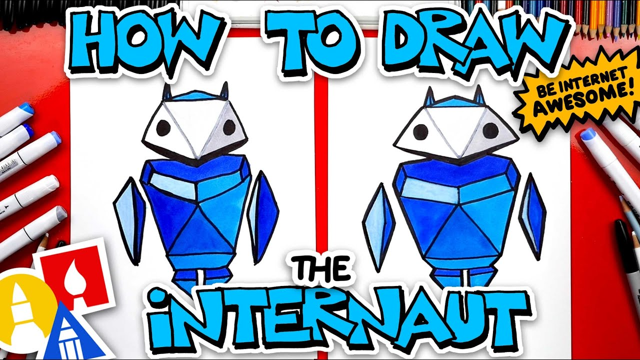 How To Draw The Internaut From Google's Interland Game